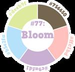 April Challenge #77: Bloom