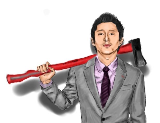 Steven Yeun by Captain-SassyButt
