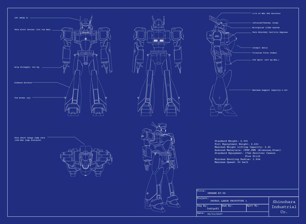Blueprint By Indigox3 On Deviantart