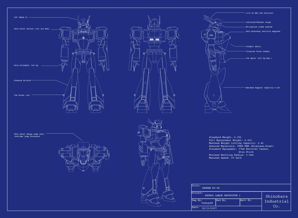Blueprint by indigox3 on deviantart for Print blueprints