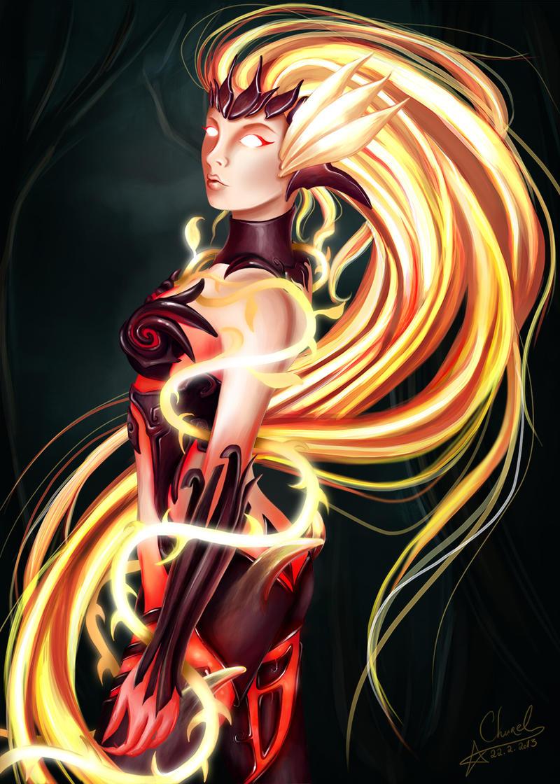Wildfire Zyra by Churail