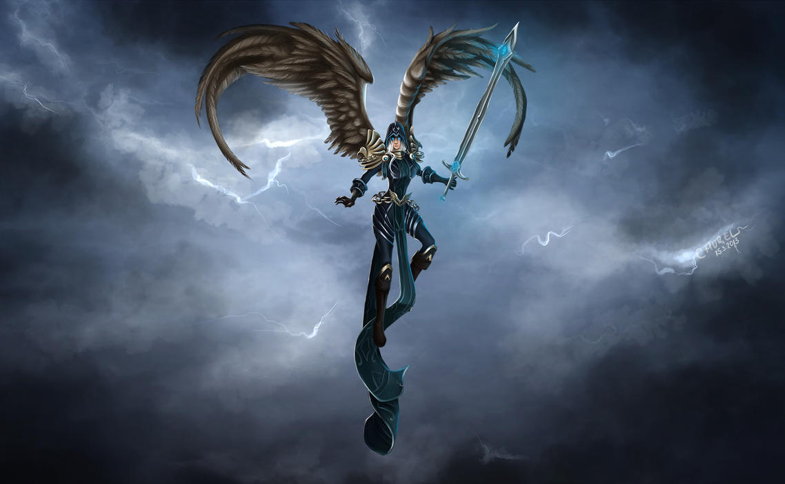 Judgment Kayle by Churail on DeviantArt
