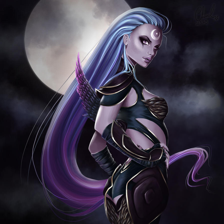 Dark Valkyrie Diana by Churail
