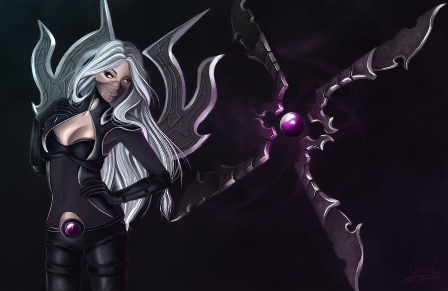 Nightblade Irelia by Churail