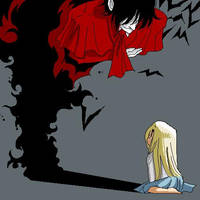 Integra and Alucard -1 by Solidandetc