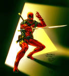 Deadpool-Spiderguile drawing