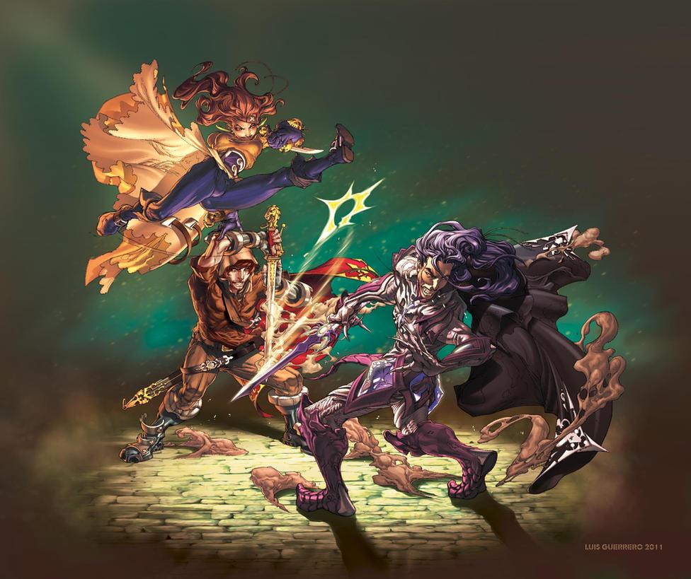 Duel by luis guerrero on deviantart - Luis guerrero ...