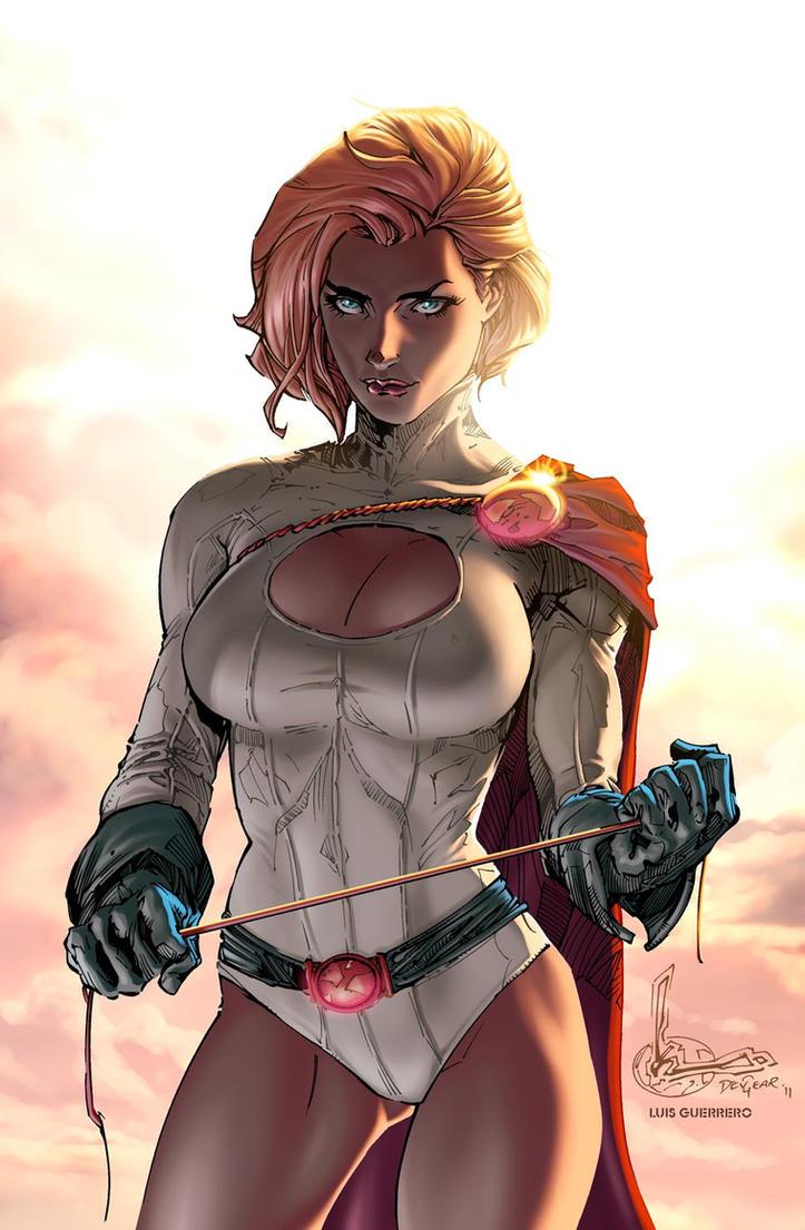 fanart women dc comics nude