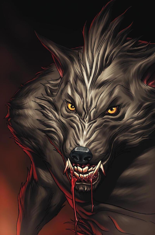 Werewolf by Luis-Guerrero