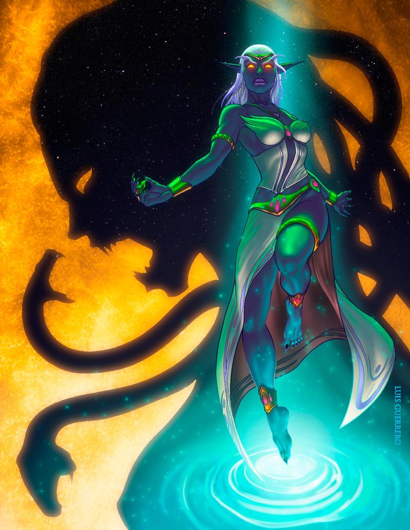 Queen Azshara by Luis-Guerrero