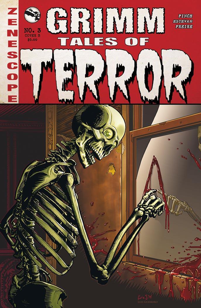 Grimm Tales of Terror #3 by Luis-Guerrero