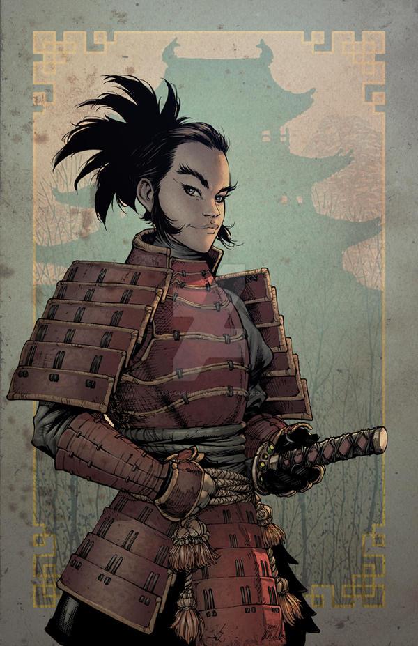 Ninja boy 2 benitez variant by luis guerrero on deviantart - Luis guerrero ...