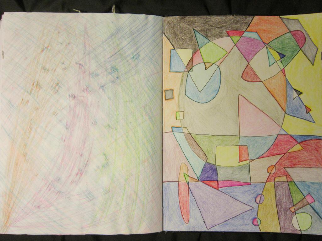 Sketchbook Work 8: Shape and Colour by Rai-Starstreak