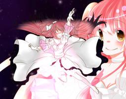 Goddess Madoka by CherryChirdorin