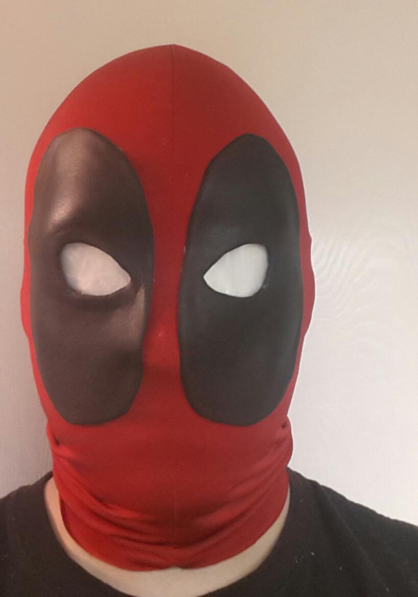 Как сделать дэдпул маска 384