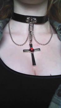 Rosario + Vampire Necklace