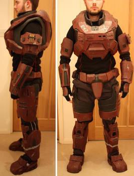 Halo Spartan MKV armour