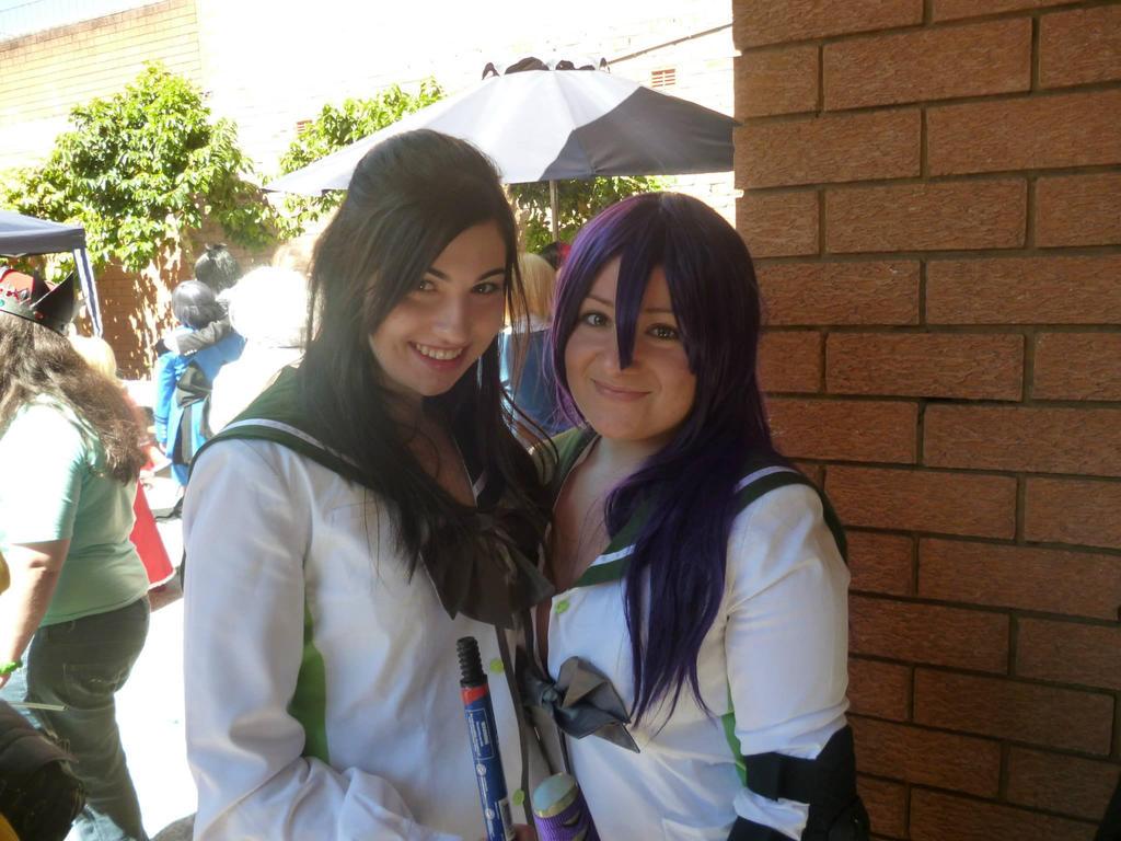 Rei and Saeko by erin-xx