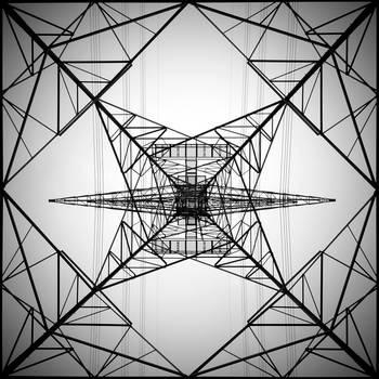 High Voltage Tower by AlFuraih