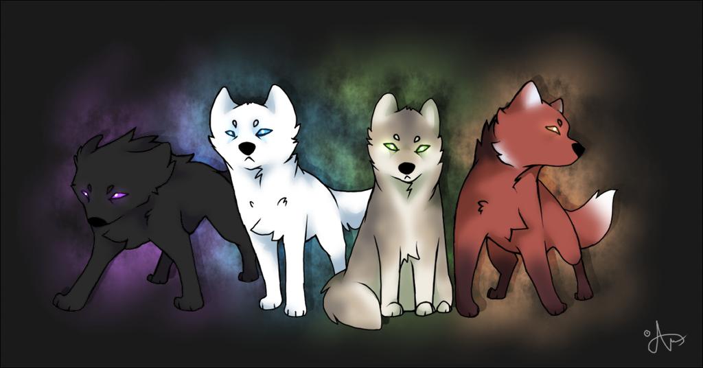 Wolf gods