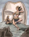 Menaka Dances for Vishwamitra