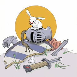 Vorpal Bunny by sequentialscott