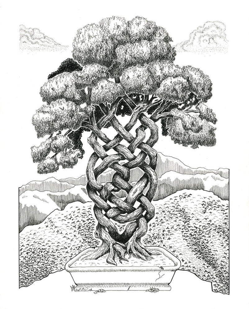 Celtic Tree by sequentialscott