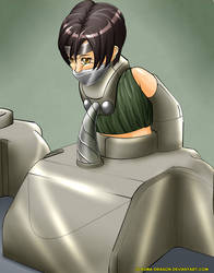 Keeping Yuffie in Lockdown by Plasma-dragon