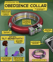 Techno Slave collar Mk2 by Plasma-dragon