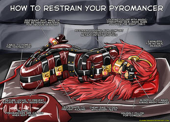 How to restrain your pyromancer by Plasma-dragon