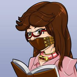 Random Librarian Bust by Plasma-dragon