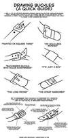 Drawing Buckles (A Quick Guide)