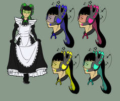 Maid Character Designin'