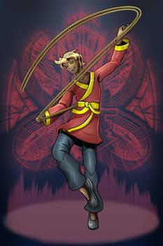 Character Select: Erasmus - Rope Artist