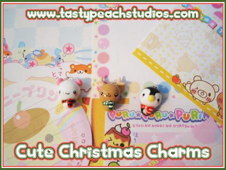 Cute Christmas Charms by MoogleGurl