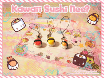 Kawaii Sushi by MoogleGurl