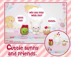 Cutie Bunny and Friends by MoogleGurl