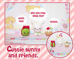 Cutie Bunny and Friends