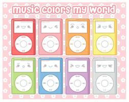 Colors of Music by MoogleGurl