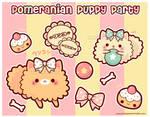 Pomeranian Puppy Party