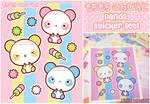 Mochi Panda Stickers