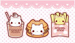 Nyanko Burger and Friends