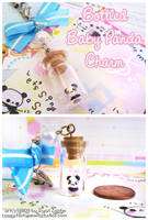 Bottled Panda Charm by MoogleGurl