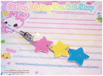 Gittery Wishing Stars by MoogleGurl
