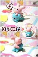 Glomp Charm by MoogleGurl