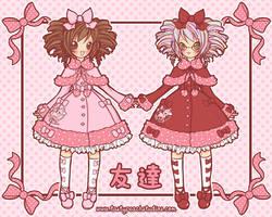 Milky-chan Twins by MoogleGurl