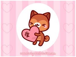 Inukii's Valentine by MoogleGurl