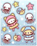 Stickers: Under Water Fun
