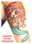 Tattoo: Mermaid