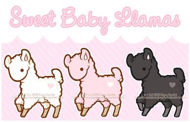 Baby Llamas by MoogleGurl